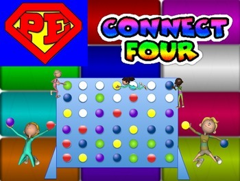 "Super PE Game - ""Connect Four"""