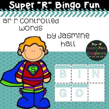 "Super Phonics: ""ar"" R Controlled Bingo"