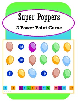 Super Poppers (PowerPoint Game)