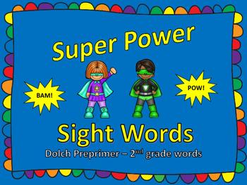 Super Power Sight Words