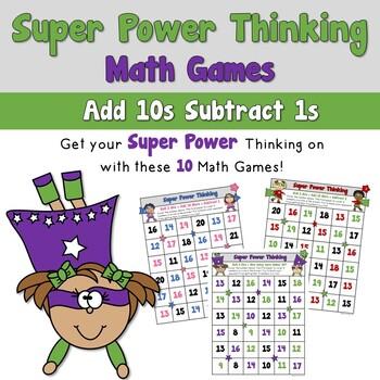 Super Power Thinking Math Games_Super Kids