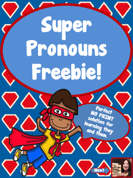 Super Pronoun Freebie!