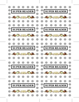 Super Reader Cards