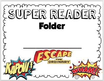Super Reader Folder Label