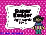 Super Readers-Sight Words Set 1