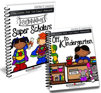 Super Scholars and Off To Kindergarten (End of the Year Re