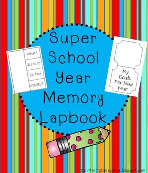 Super School Year Memory Lapbook