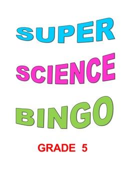 Super Science Bingo Grade 5