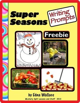 Super Seasons Writing Prompts