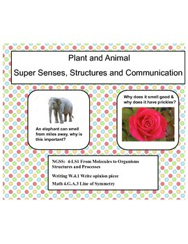 Super Senses, Structures and Communication- Complete NGSS: