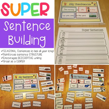 Super Sentence Building Mega-Pack