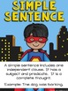 Super Sentence Jar: Simple, Compound, and Complex Sentence