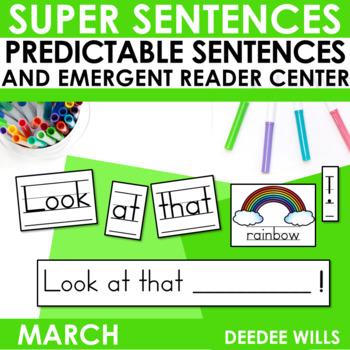 Predictable Sentences March Edition