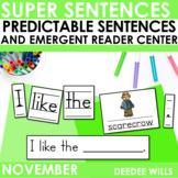 Predictable Sentences for Fall