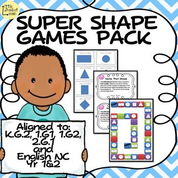 Super Shape Games Pack