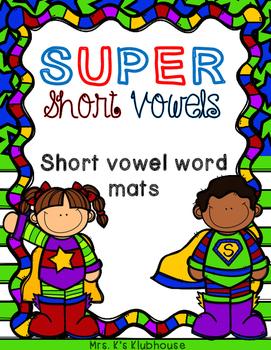Short Vowel Mats
