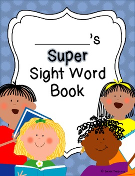 Super Sight Word Book
