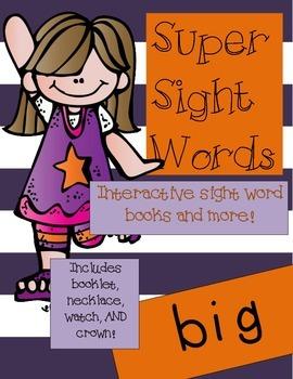 Super Sight Words - Big