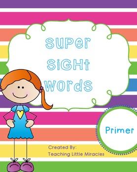 Super Sight Words - Primer Pack