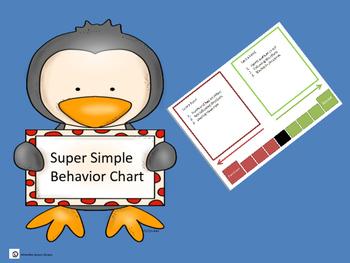 Super Simple Behavior Chart