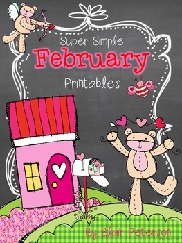 Super Simple February Printables