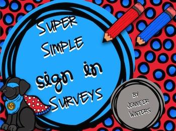 Super Simple Sign In Surveys