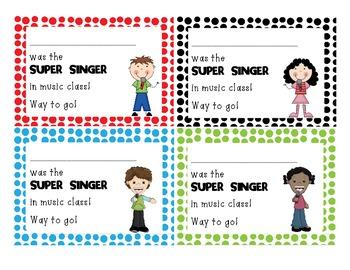 Super Singer positive notes
