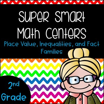 Place Value Math Centers 2nd Grade