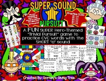 Super Sound Pursuit CVC Game Bundle