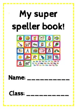 Super Speller Book! The top 400 words from the Oxford word