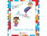 Super Speller- Number words