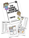 Super Spelling Dictionary - Personal Word Wall