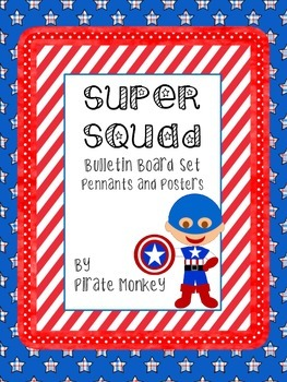 Super Squad Decoration Set