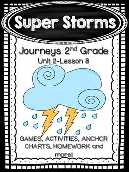 Super Storms Journeys 2nd Grade (Unit 2 Lesson 8) Suppleme
