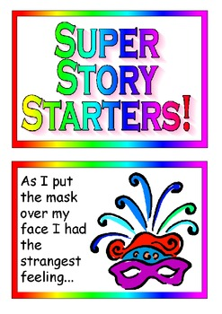 Super Story Starters-Set of beautifully colored and animat