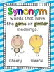 Super Strong Synonyms, Antonyms and Homophones Word Work Pack