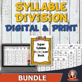 Super Syllable Division Bundle - Connect Game & Resource B