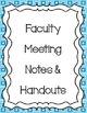 Super Teacher Binder/Planner 2014-2015 Blue