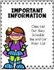 Super Teacher's Binder Page Dividers