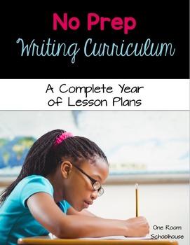No Prep Writing Curriculum (2 week trial)