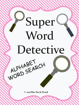Super Word Detective