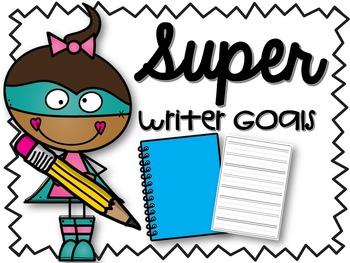Super Writer Goals