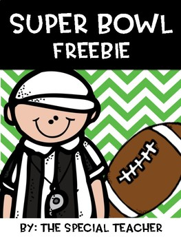 Super bowl Freebie