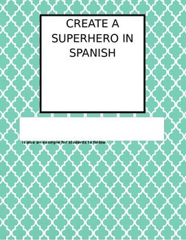 Super hero in Spanish - Súper héroe