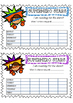 SuperHero Stars Reward Charts