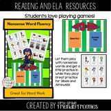 Nonsense Word Fluency - Football Themed - Touchdown!