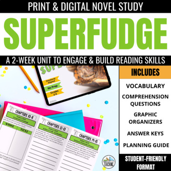 Superfudge Foldable Novel Study