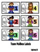 Superhero Incentive Charts and Labels to Support Classroom