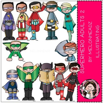 Superhero Adults 2 by Melonheadz