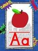 Superhero Alphabet Line with Pictures